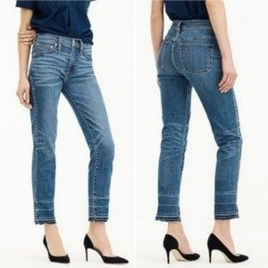 J. Crew Vintage Straight Leg Released Hem Jeans
